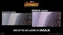 Avengers: Infinity War IMAX Comparison Trailer