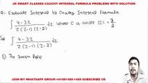 Complex Analysis # 4 Cauchy Integral Formula or Cauchy