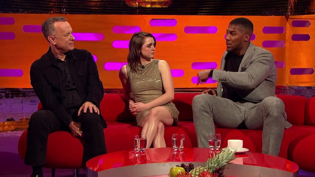 Anthony Joshua Discusses His Fight with 'Pie Eater' Joseph Parker!  The Graham Norton Show