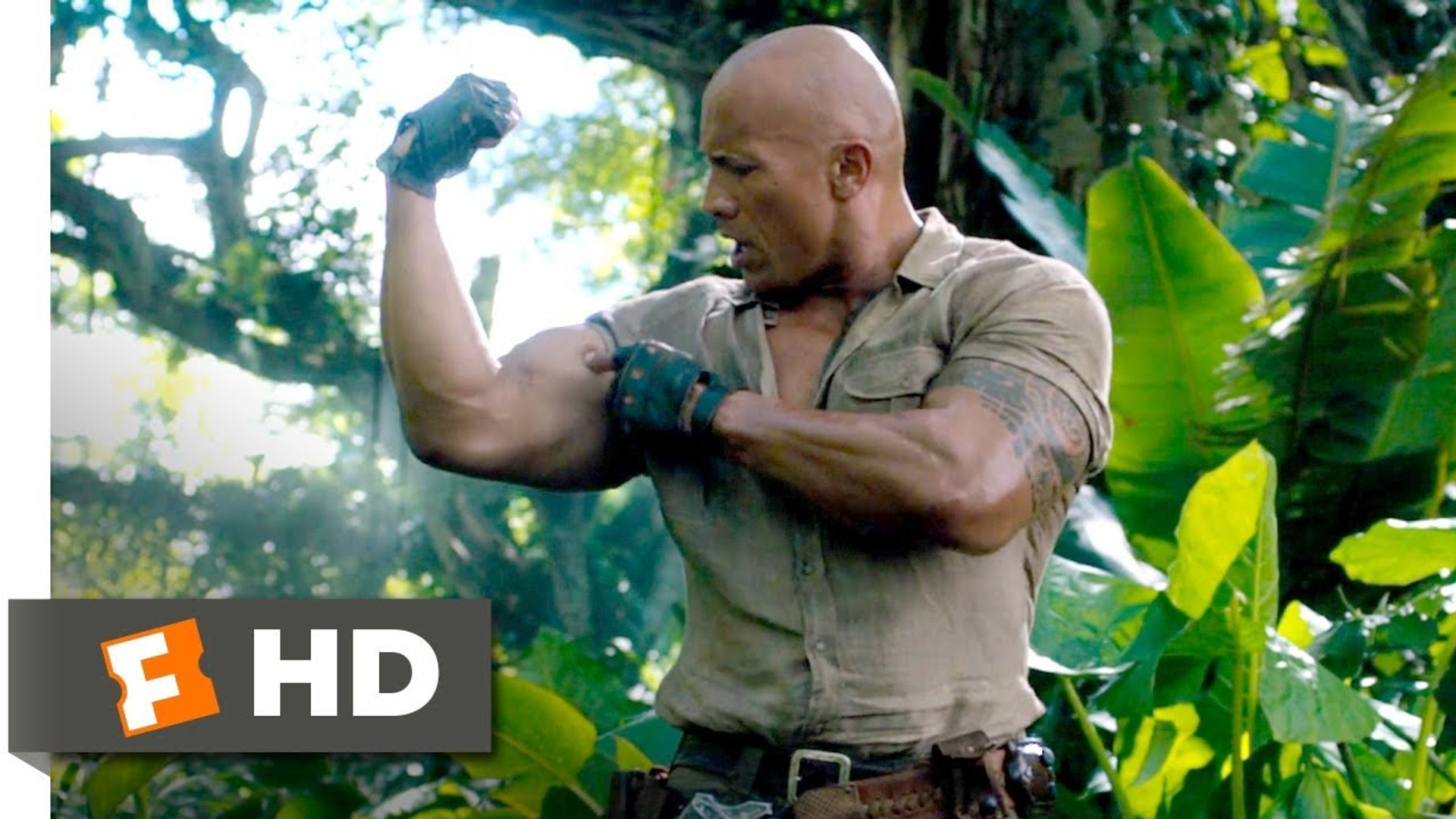 Jumanji 2 - Welcome to the Jungle (2017) - Choose Your Character Scene (1-10) - Hollywood Movies Eng