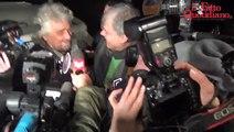 """M5s, Grillo alla festa per Fico: """"Mi chiama gente in lacrime, il sistema è finito"""