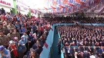 Cumhurbaşkanı Erdoğan :'Artık hedeflerimize ağır aksak yürümeyeceğiz, koşar adımlarla ilerleyeceğiz.'- GİRESUN