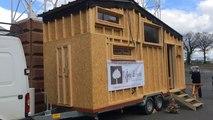 Une tiny house fabriquée au Poiré sur Vie exposée à La Roche sur Yon