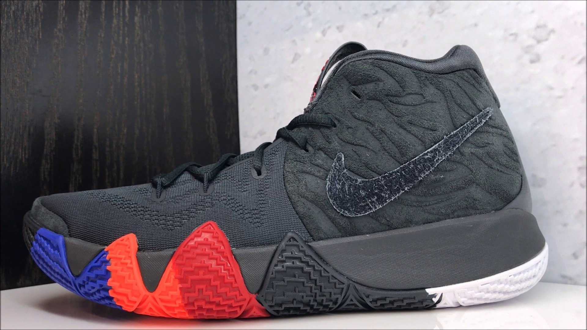 best loved ed4ee c451f NIKE KYRIE IRVING 4 YEAR OF THE MONKEY SNEAKER REVIEW