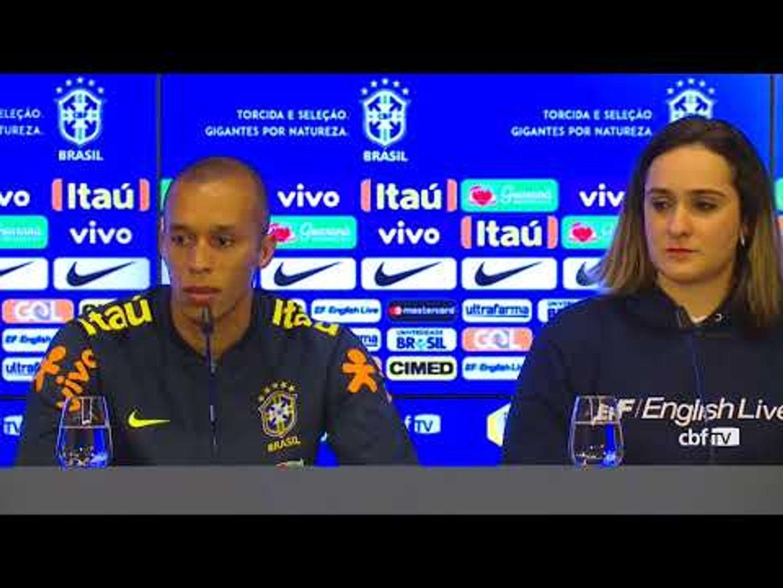 Seleção Brasileira: coletiva com Miranda - 25/03/2018