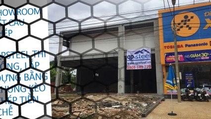 Nhà Thép Tiền Chế ® QPSteel thiết kế thi công lắp dựng khung kèo thép