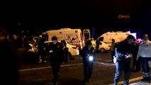 Kayseri'de Ambulans ile Otomobil Çarpıştı 5 Ölü, 2 Yaralı
