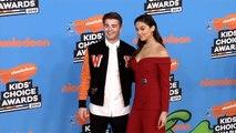 Jack Griffo, Kira Kosarin 2018 Kids' Choice Awards Orange Carpet