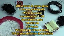 Pastel de Moras y queso | Blackberries Cake