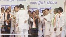Karnataka Assembly polls: JD(S) leaders join Congress party in Rahul Gandhi's presence|Oneindia News