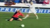 الشوط الثاني مباراة مانشستر يونايتد و ليدز يونايتد 1-0 الدوري الانجليزي 2003-2004