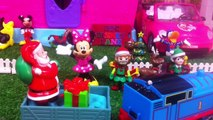 Minnie Mouse Christmas 2017 Toy Surprises|Mickey Mouse Christmas Toys EN Santa Clause