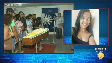 Cidade Alerta - Chegada do corpo da estudante Danielle, que morreu em acidente quando ia para maternidade