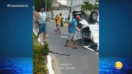 Cidade Alerta - Flagrante de imagens de um homem que furtou o celular de uma das vítimas do acidente