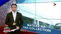 Mataas na tax collection, ikinatuwa ng Palasyo
