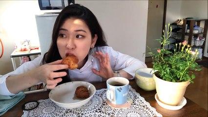 [한일자막]나혼자일본!- 커피와 크로와상縷+한국에서 이번엔 어떤 택배가! 일상 99편   [韓日字幕]日本で一人暮らし- コーヒーとクロワッサン縷+実家から届いたのは!  日常99編 Japan Daily Vlog #99