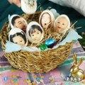 Sie steckt ein Taschentuch in den Drucker, um Eier zu bekleben. Die 5 Tricks sind echt gut!  Auf Pinterest merken: