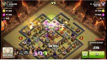 Clash of Clans - Best Witches attack 3 star Town Hall 10 max Defense