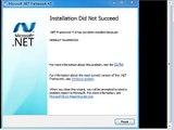 Cara Mengatasi Windows 7 Tidak bisa Instal .Net Framework 4.x error message HRESULT 0x8000222