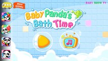 Cute Animals, bath toys, bubbles and more Kids games by Babybus - Baby pandas Bath Time