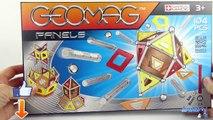 Geomag Panels Jeu de Construction Magnétique Aimants Jouet Toy Review Juguetes