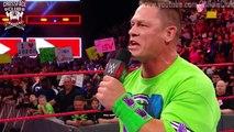 Undertaker returns and accepts John Cena's challenge - RAW 19-03-2018