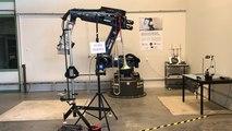 Un robot dernier cri qui mesure les vibrations
