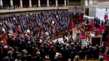 """""""A Carcassonne, notre République avait un visage"""": la minute de silence émouvante de l'Assemblée à Arnaud Beltrame"""