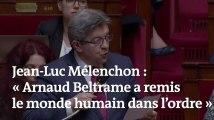 « Arnaud Beltrame est un héros de la condition humaine », salue Jean-Luc Mélenchon à l'Assemblée nationale