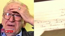 Elderly man finds son after discovering letter hidden by his  wife for decades