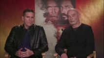 "IR Interview: Jim Caviezel & James Faulkner For ""Paul, Apostle Of Christ"" [Sony/Affirm]"