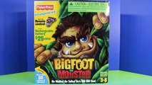 Fisher Price Imaginext Bigfoot The Monster Has Fun At The Playground And Swings