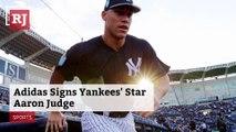 Adidas Signs Yankees' Star Aaron Judge