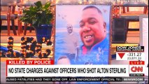 No State Charges against Officers who shot Alton Sterling. #Breaking #Louisiana #BrookeBaldwin #CNN