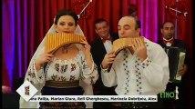 Ruxandra Pitulice si Gheorghe Rizea - Nai (Seara buna, dragi romani! - ETNO TV - 14.02.2018)