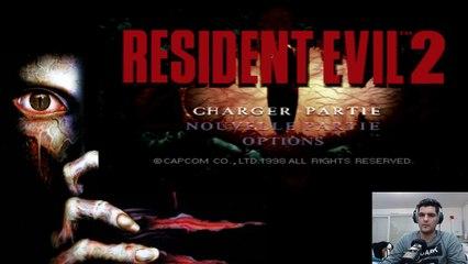Resident Evil 2 (RedifLive) : Léon le roux, en marcel ! #1