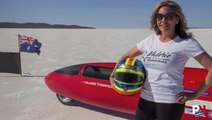 Valerie Thompson Survives A Crash At Over 300 MPH