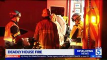 One Dead, Two Injured in L.A. House Fire; `Live Ammunition` Found Inside