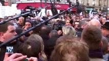 La marche blanche pour Mireille Knoll perturbée par des huées contre le FN et la France insoumise