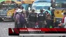 FUSINA intensifica operativos en terminales de buses