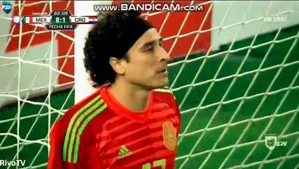 Ivan Rakitic Goal ~ Mexico vs Croatia 0-1
