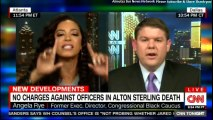 War of words between Angela Rye & Ben Ferguson over NRA fund and NO CHARGES AGAINST OFFICERS IN ALTON STERLING DEATH..  @benfergusonshow @angelarye #NRA #BreakingNews #Breaking