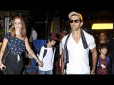 Hrithik Roshan & Sussanne Khan Enjoying Holiday In Goa With Kids   Bollywood Buzz