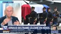 """Arnaud Beltrame: """"Si une société a besoin de héros, c'est qu'elle est en difficulté"""", estime le neuropsychiatre Boris Cyrulnik"""
