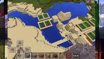 Desert Temple, Village & Stronghold at Spawn!! Minecraft PE Seed