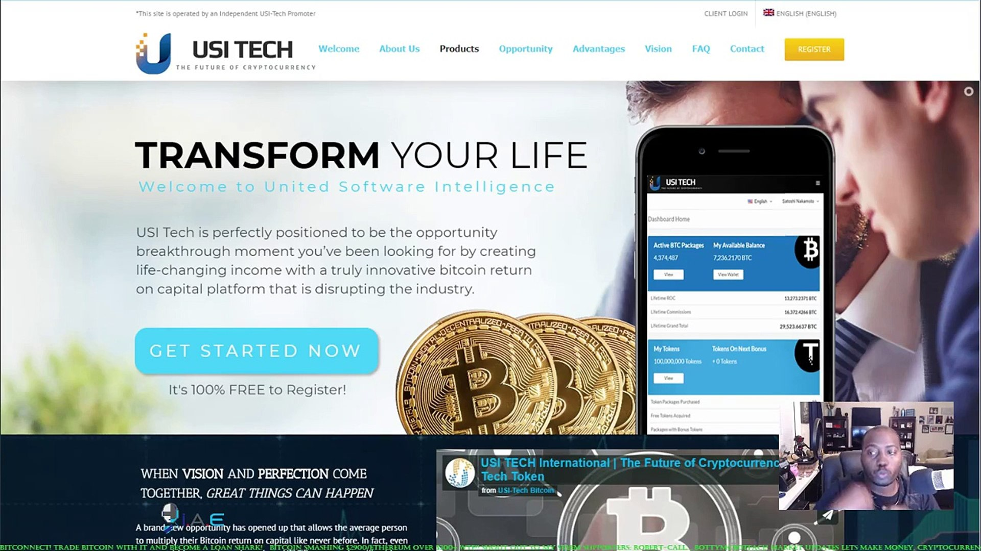 USI-Tech Is The ONLY Way To Secure Financial Freedom Beyond The HYIP's In The Crypto-Space!