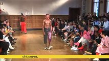 Designers show latest menswear trends at Cape Town fashion week [no comment]
