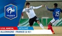U18, amical : Allemagne - France (2-4), le résumé I FFF 2018