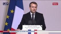 Hommage  à Arnaud Beltrame : « Il était de ces fils que la France s'honore de compter dans ses rangs » - Emmanuel Macron