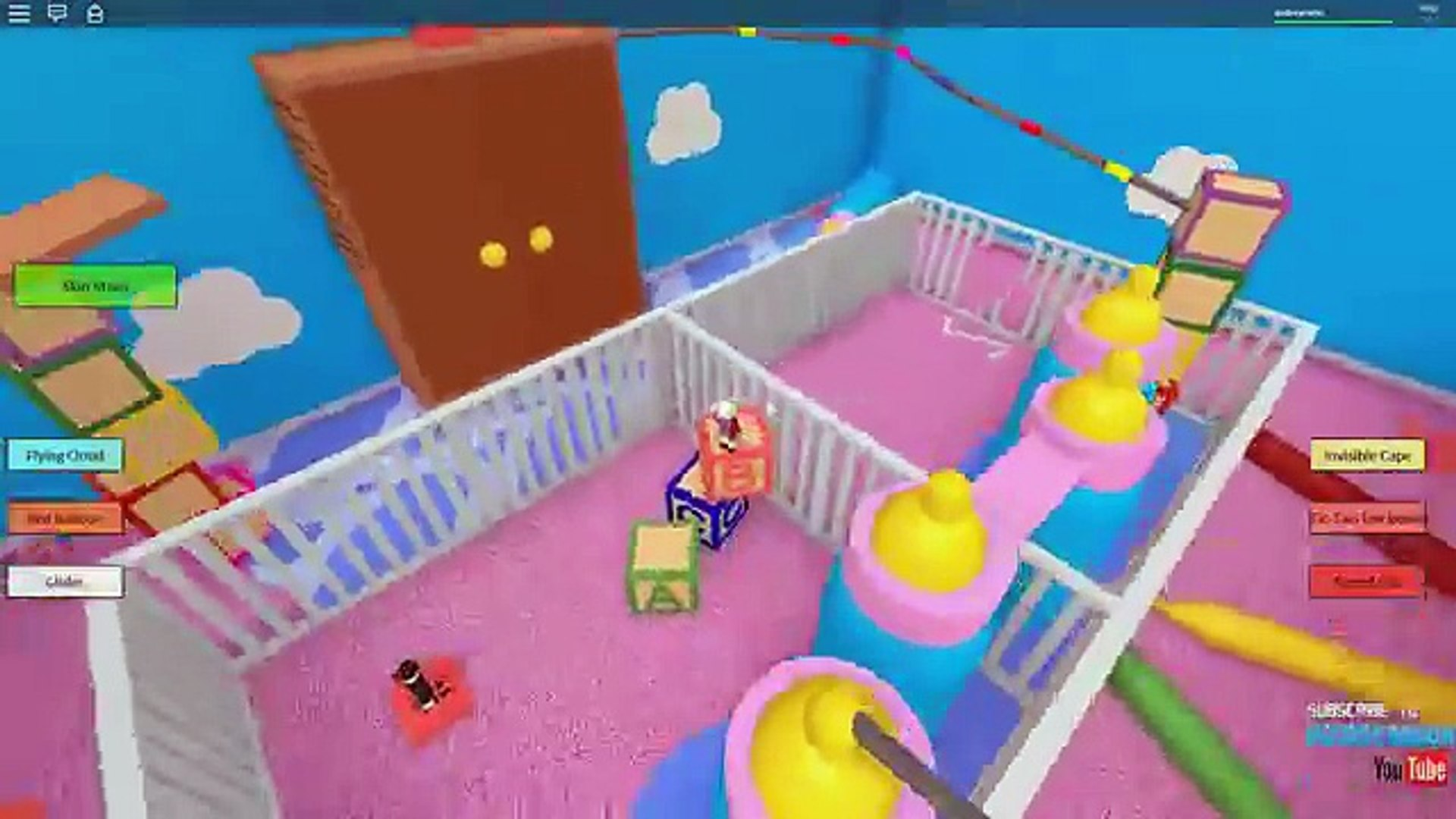 Roblox Lets Play Escape The Baby Daycare Obby Radiojh Games